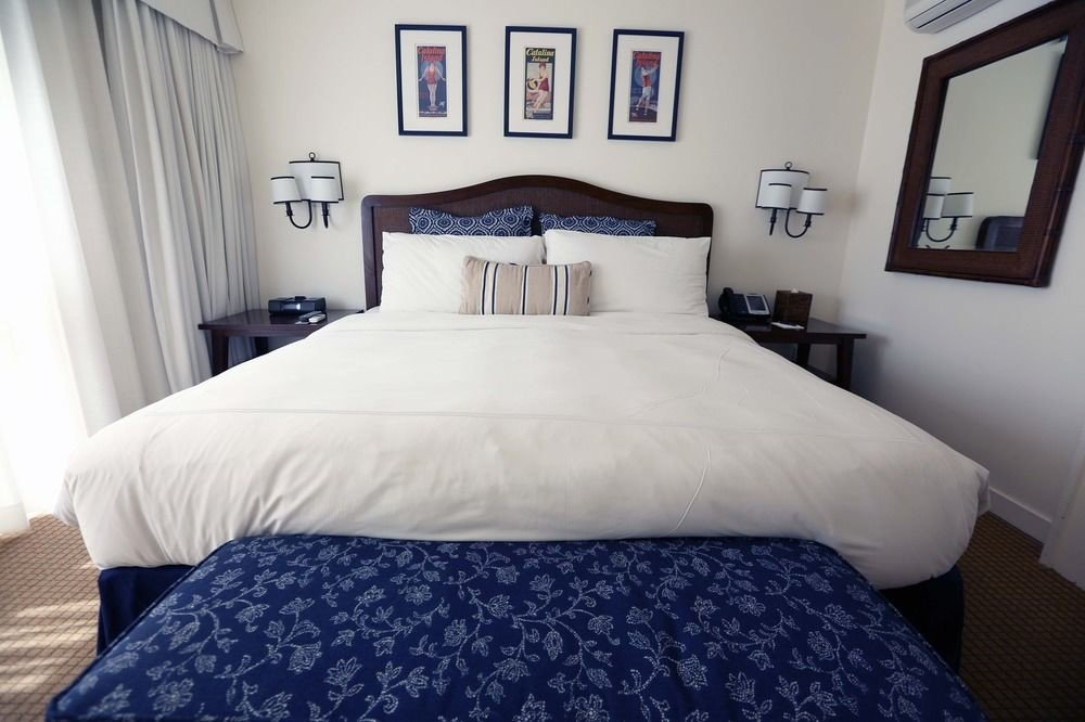 Bedroom property cottage pillow Suite bed frame bed sheet night