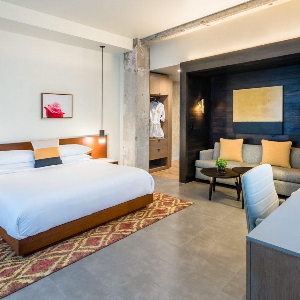 Suite Bedroom bed frame interior designer comfort