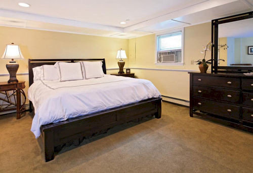 Bedroom property hardwood cottage Suite bed frame