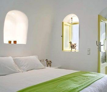 green property Bedroom pillow white bed frame cottage Suite