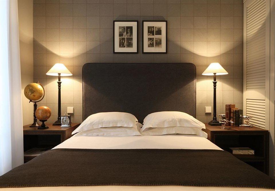 Bedroom property Suite bed frame living room lamp