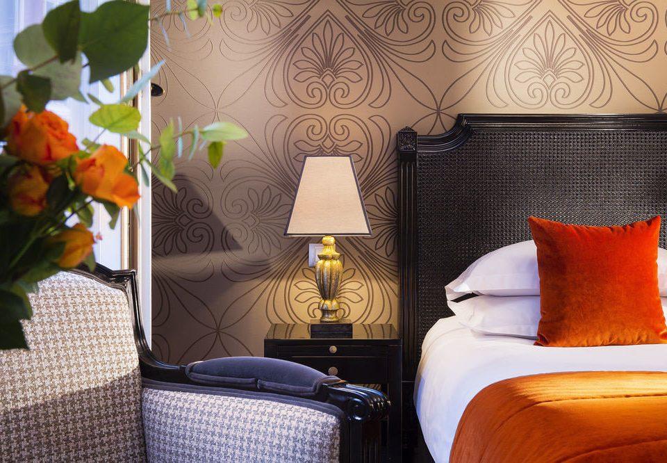 color Suite living room bed sheet home Bedroom orange