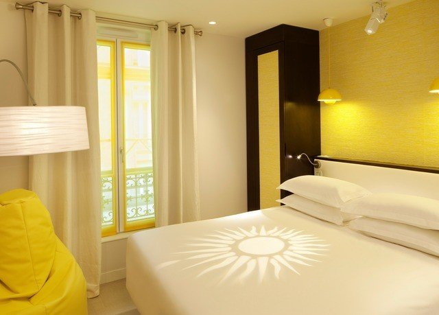 property yellow Bedroom Suite white bed sheet condominium