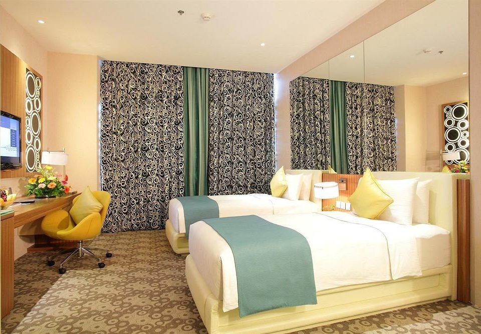 property living room Suite Bedroom green home condominium bed sheet