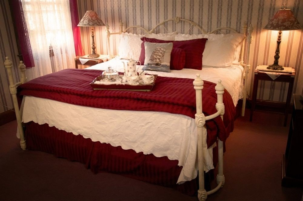 Bedroom curtain red Suite cottage bed sheet