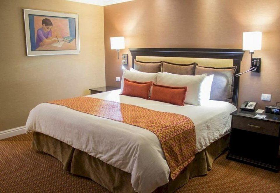 Bedroom property desk Suite cottage bed sheet night