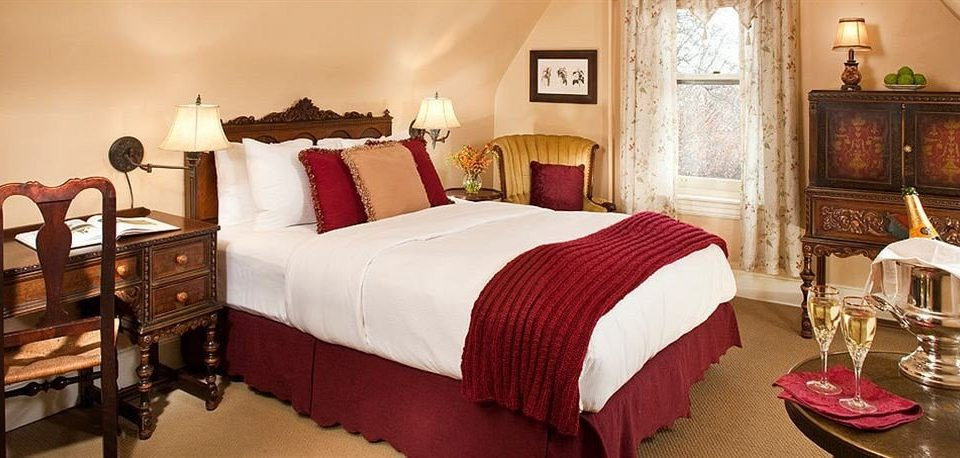 sofa red Bedroom Suite cottage bed sheet