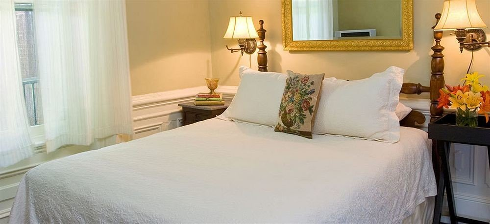 pillow Bedroom property white Suite cottage lamp bed sheet night