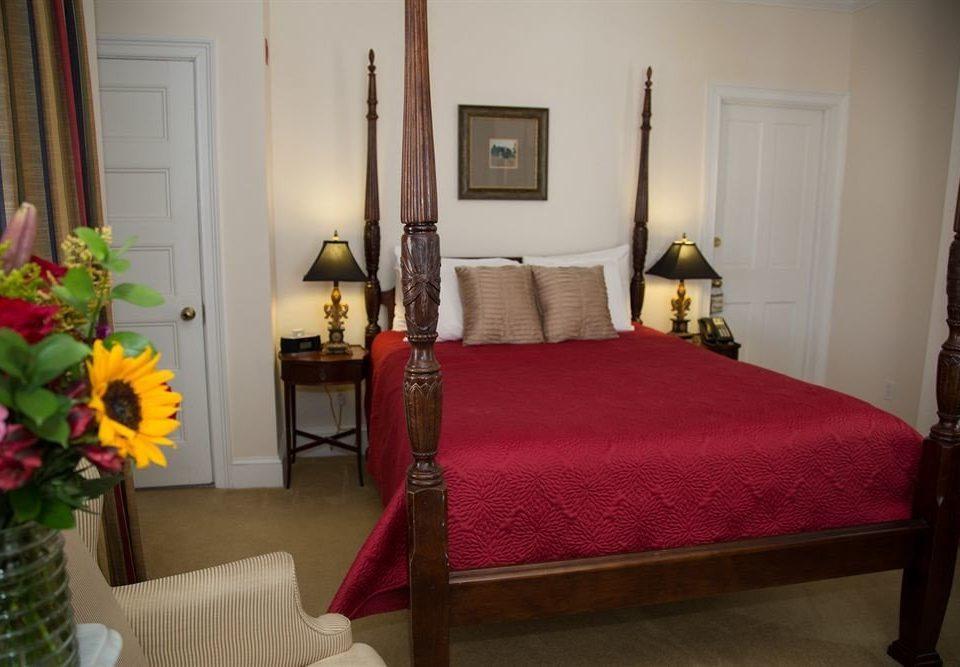 red property flower Bedroom cottage home Suite living room bed sheet