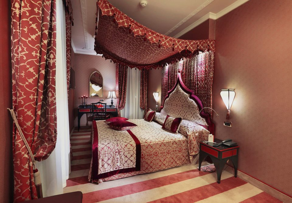 red property Bedroom Suite bed sheet cottage