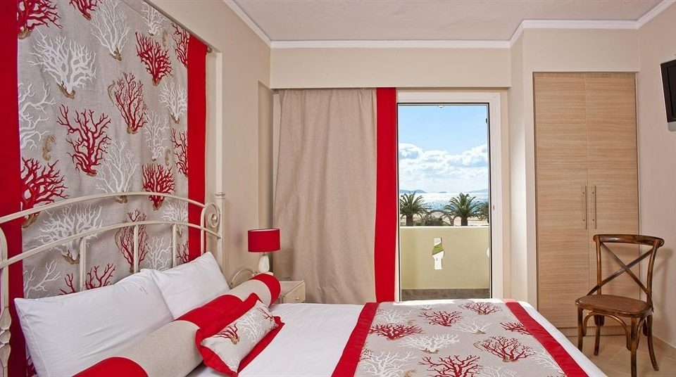 red property Bedroom Suite cottage bed sheet