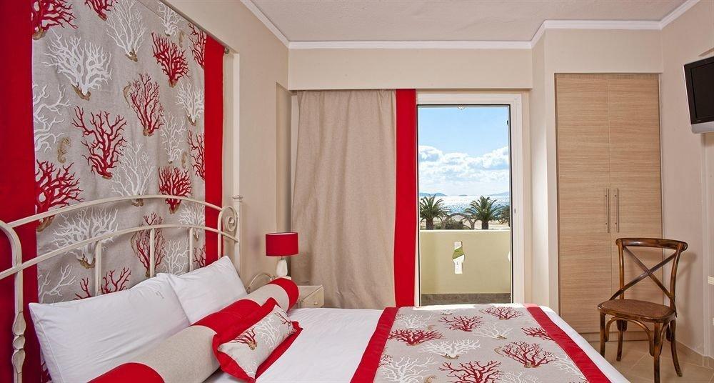 red property Bedroom Suite cottage bed sheet