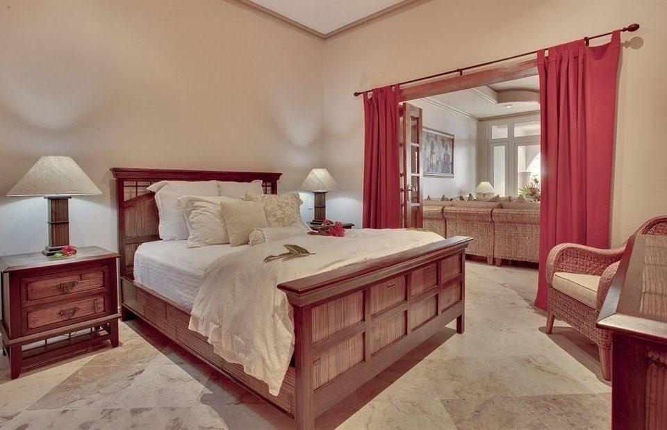 Bedroom property red Suite home hardwood cottage living room bed sheet
