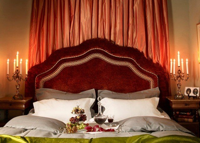 curtain bed sheet textile Suite Bedroom