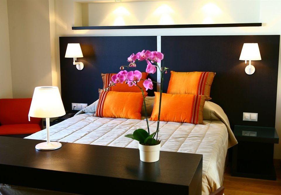 living room Suite home bed sheet lamp Bedroom