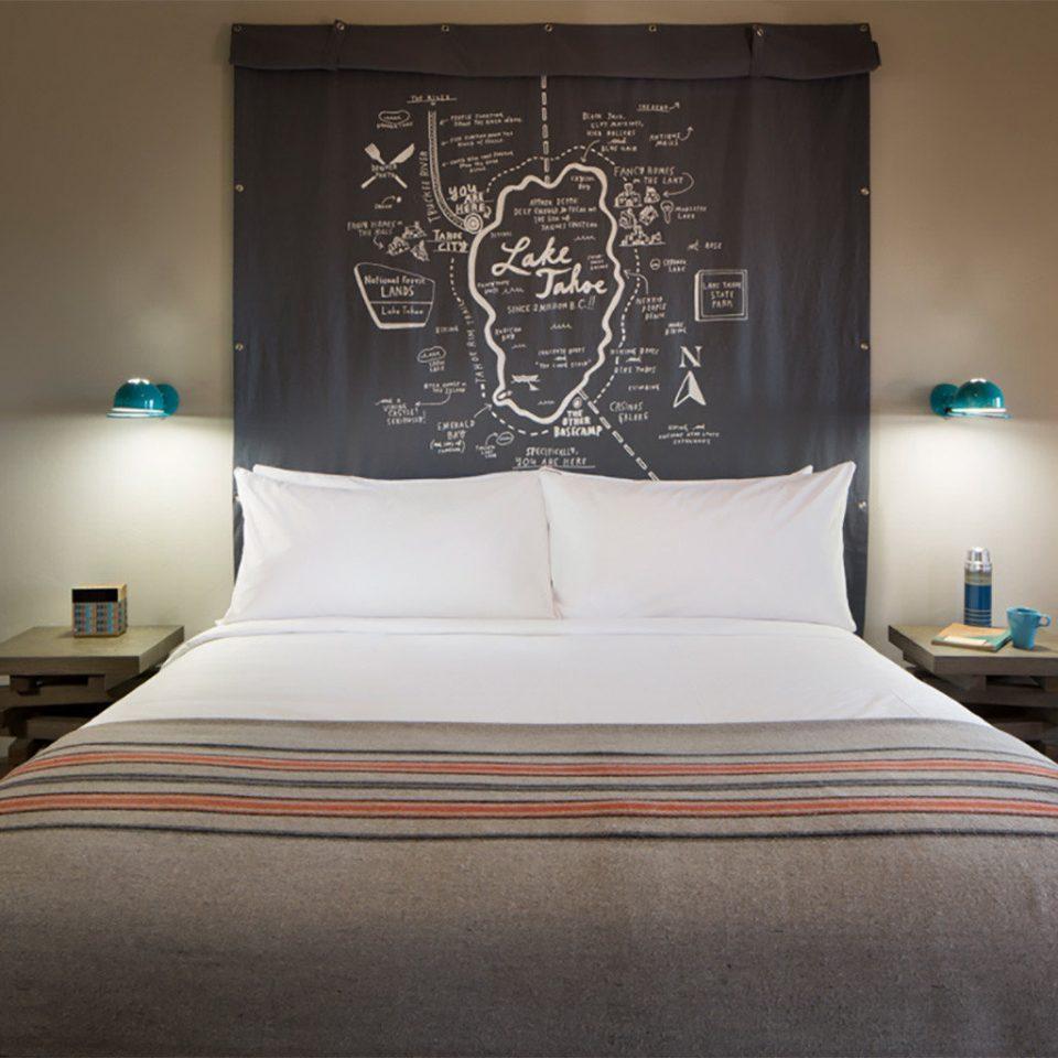 Bedroom pillow Suite bed sheet lamp