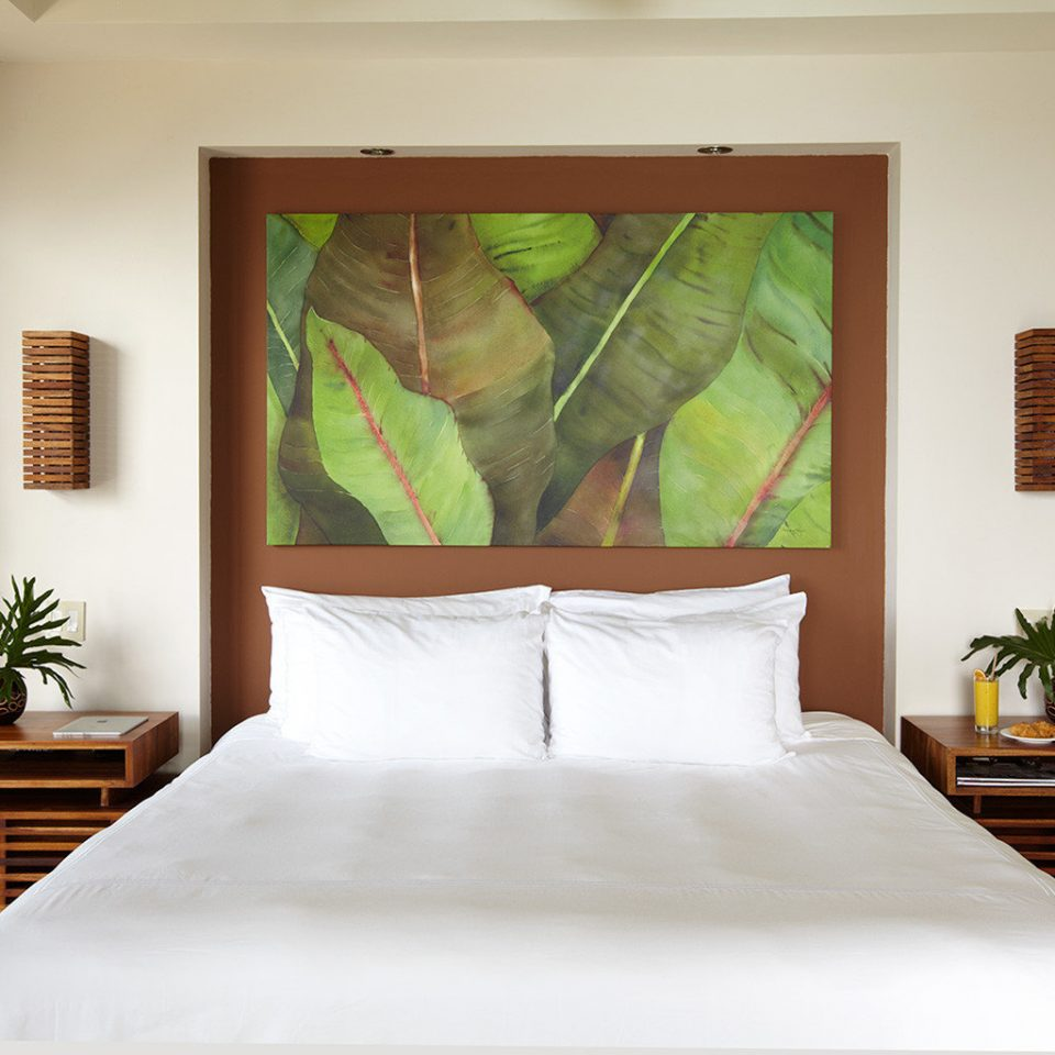 Bedroom white Suite living room bed sheet painting