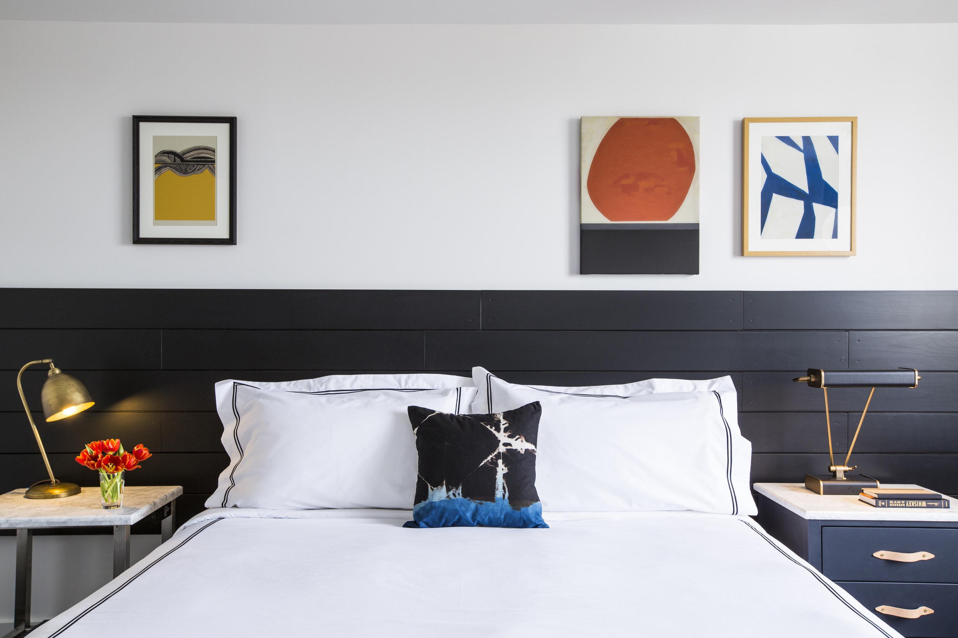 Bedroom living room bed sheet Suite