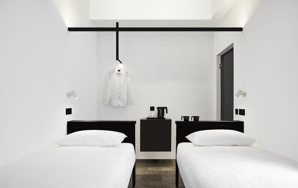 white Suite product design Bedroom black and white comfort interior designer