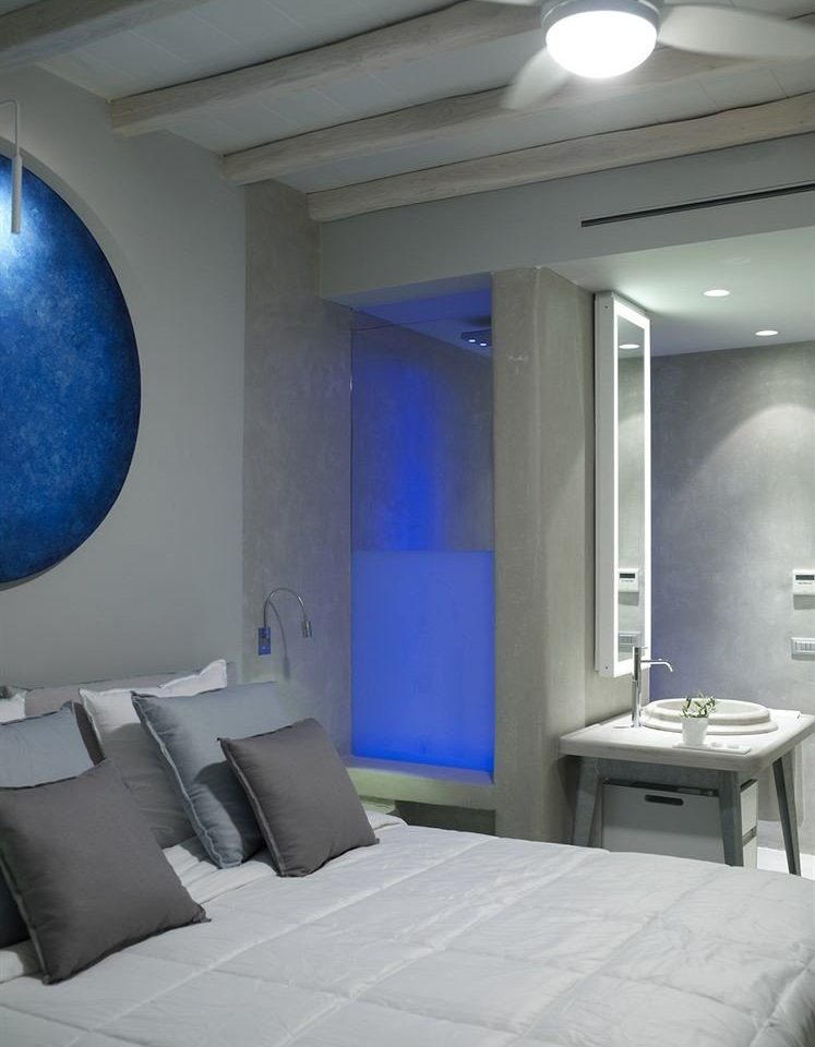 property white living room sink Suite yacht condominium blue Bedroom