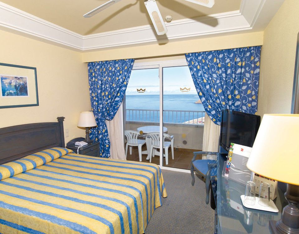 property Bedroom scene blue cottage Suite