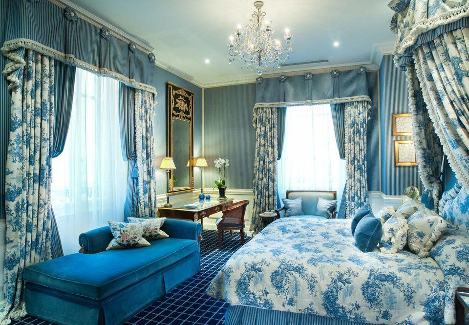 sofa property Bedroom house home living room cottage mansion blue Suite
