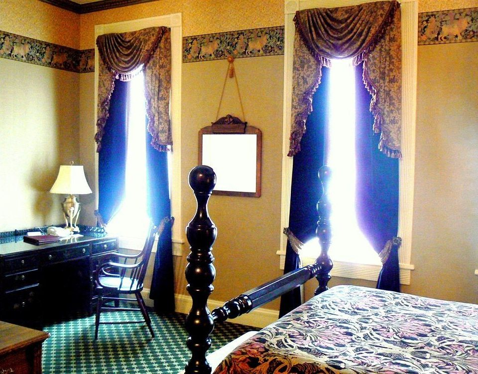 blue living room curtain mansion Suite textile lamp Bedroom