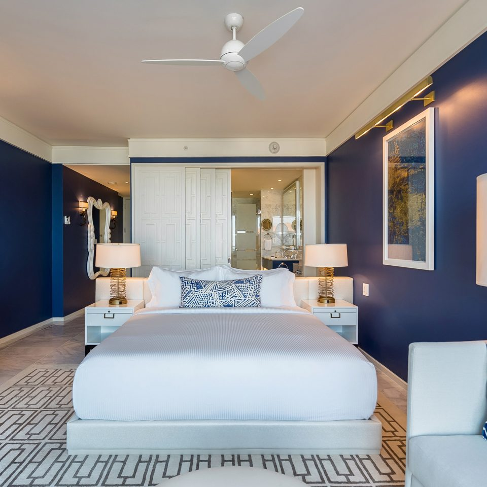 Suite Bedroom home interior designer blue