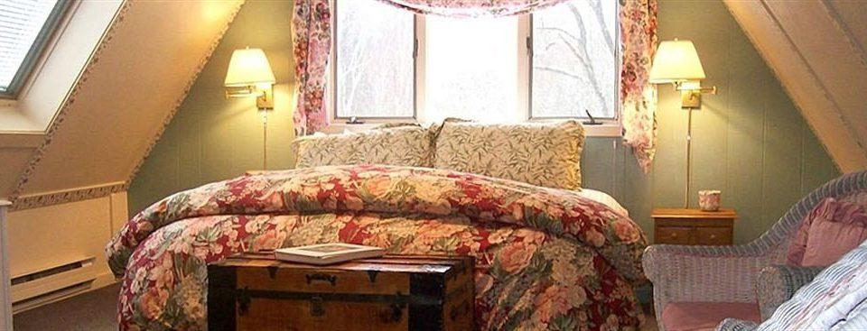 sofa property building cottage Suite living room home Bedroom lamp