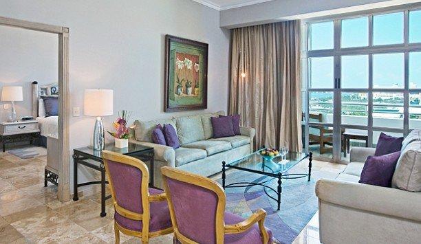 living room chair property Suite penthouse apartment interior designer condominium Bedroom