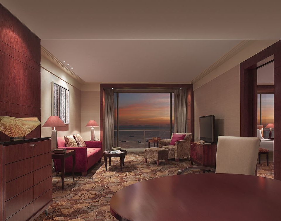 chair property Suite living room Bedroom condominium