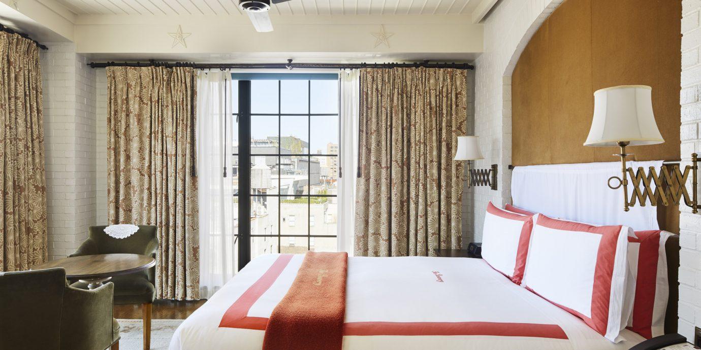 sofa chair Suite Bedroom window treatment interior designer