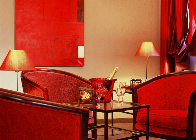 color red Suite lighting restaurant living room Bedroom