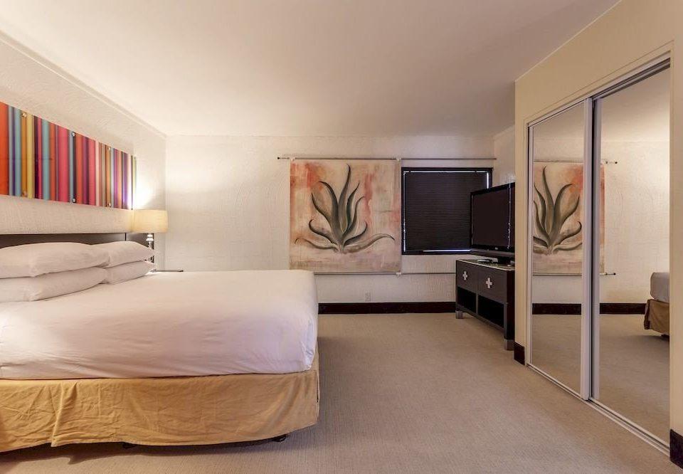 property Bedroom Suite living room condominium colored
