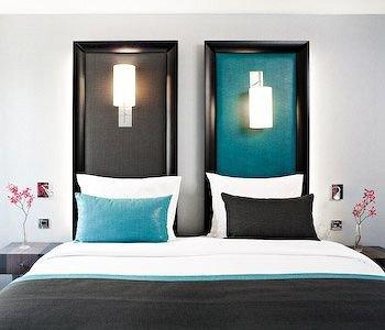lighting modern art Suite Bedroom colored