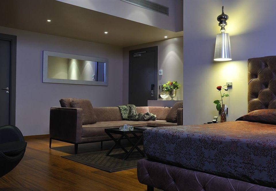 property living room home hardwood condominium Suite cottage Bedroom