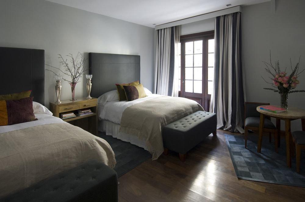 property Bedroom living room home hardwood Suite cottage condominium