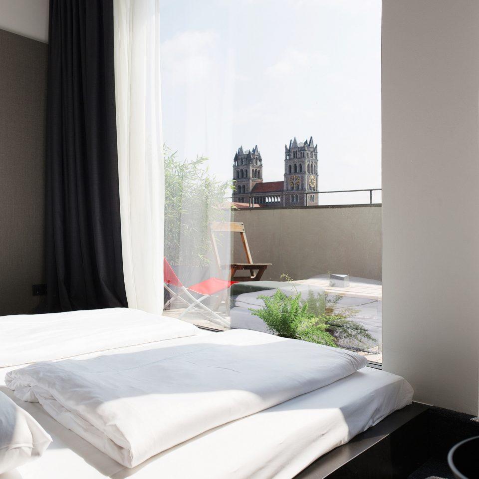 property Bedroom Suite cottage white condominium pillow curtain