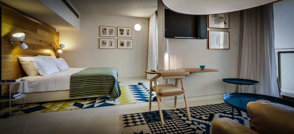 property home Suite living room condominium cottage Bedroom