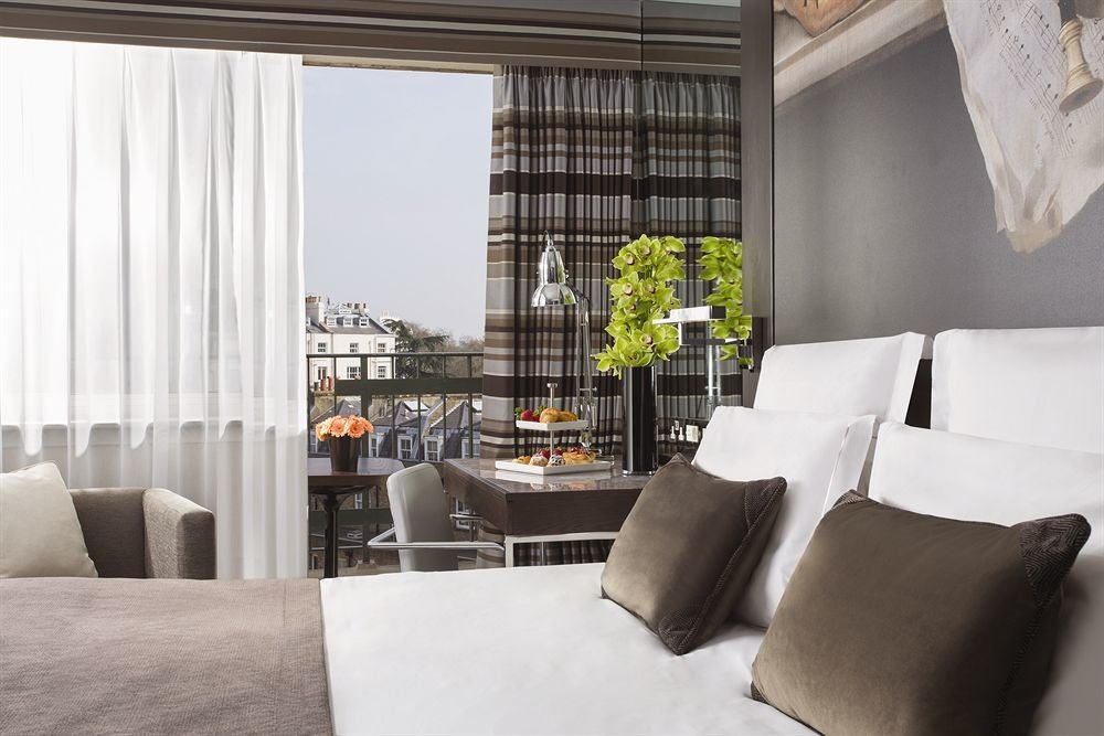 sofa property living room pillow home curtain Suite condominium loft cottage window treatment nice Bedroom