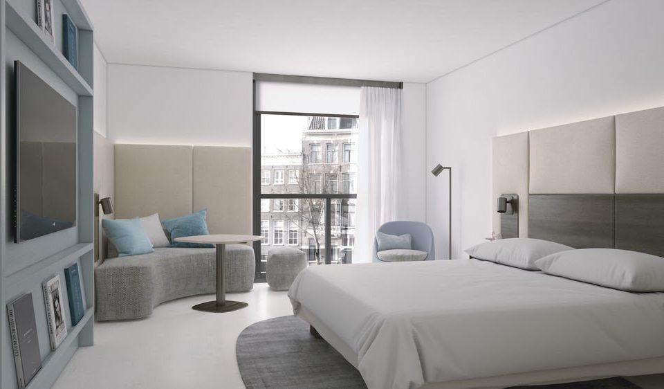 Bedroom property condominium living room home white cottage Suite