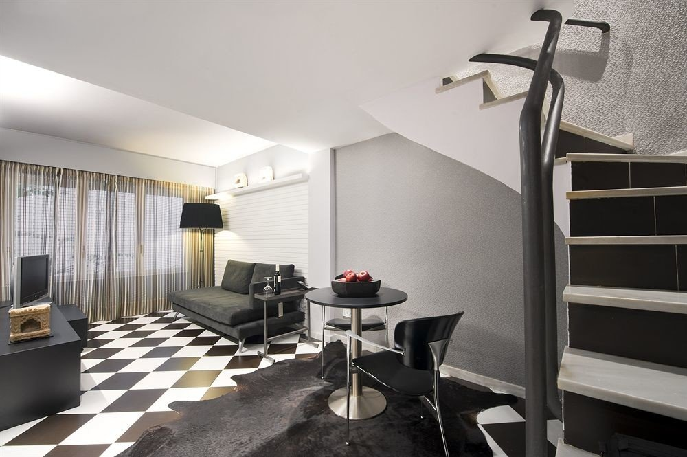 property living room condominium home lighting loft cottage Suite Bedroom
