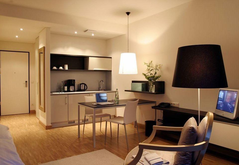 property living room home hardwood lighting condominium Suite cottage Bedroom