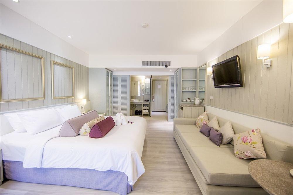 Bedroom property Suite scene living room cottage condominium