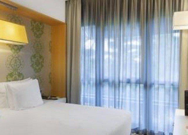 curtain Bedroom window treatment textile Suite condominium material pillow