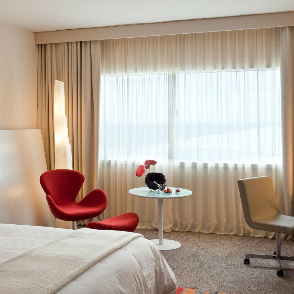 property red Suite living room curtain condominium Bedroom window treatment flat
