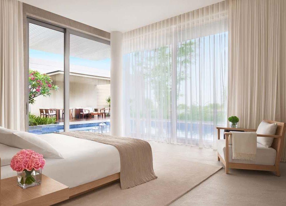 sofa property Bedroom condominium living room Suite home curtain window treatment textile flat