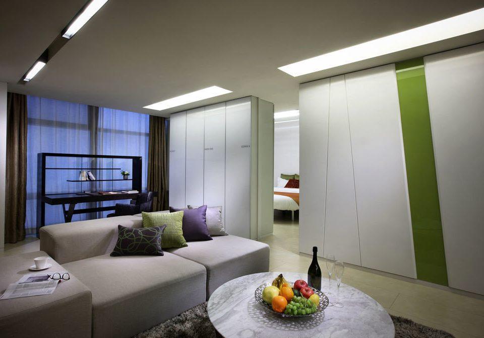 property living room house home condominium lighting daylighting Suite Bedroom