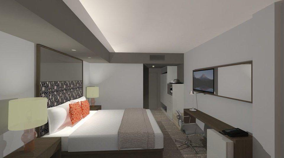 property condominium living room Suite home daylighting professional loft Bedroom