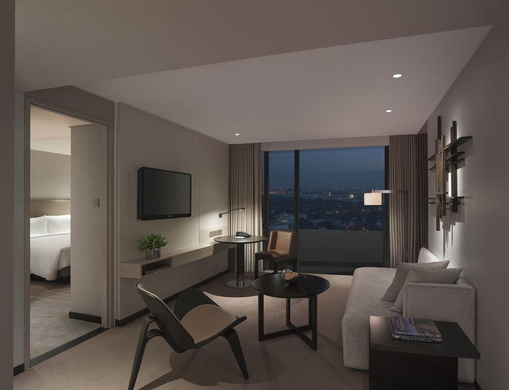 property living room condominium home lighting daylighting Suite Bedroom